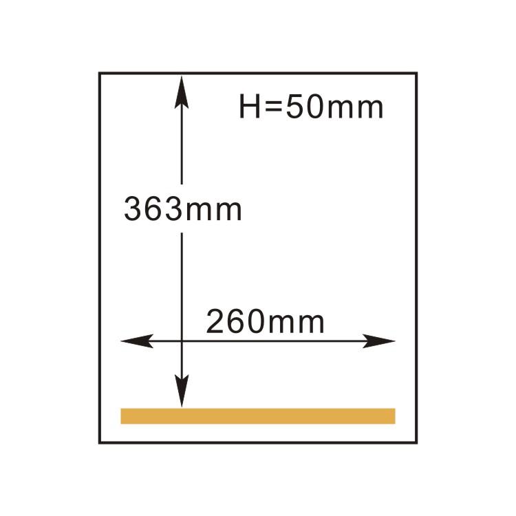 РОСПАК. DZ-260/PD (HVC-260T/1A) размеры камеры